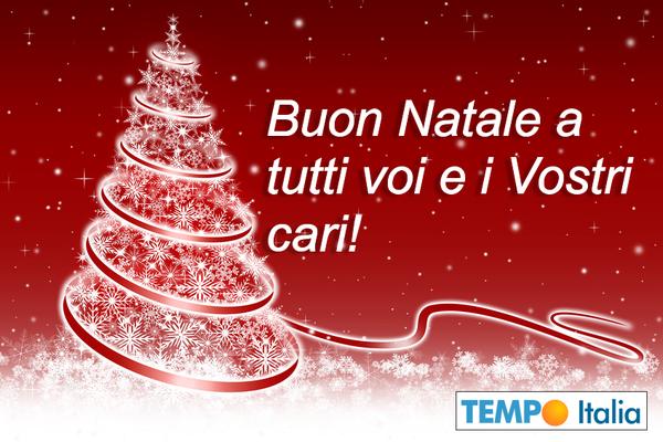 Buon Natale Tutti.Buon Natale A Voi E Famiglie Da Tempo Italia Notizie Meteo