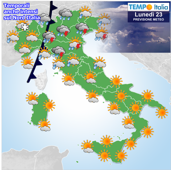 Buona Domenica Con Il Sole Ma Domani Per Il Nord Italia