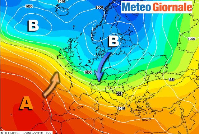 Meteo, le previsioni: ultimo weekend mite, poi arriverano freddo e neve