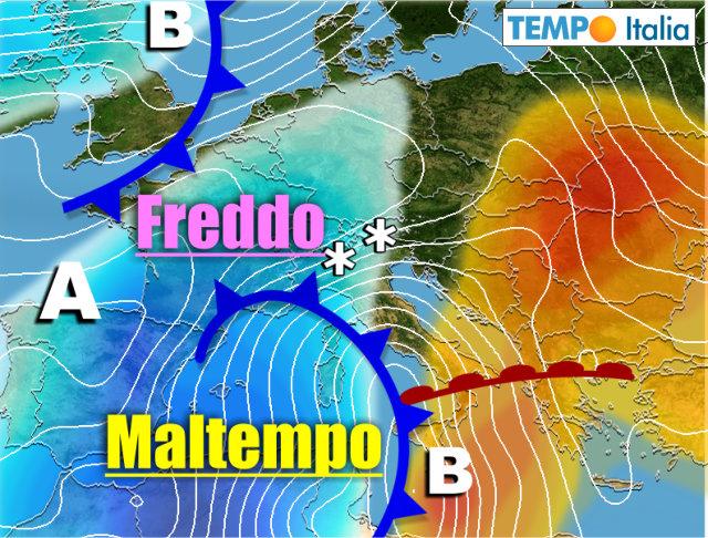 Meteo, le previsioni di lunedì 11 marzo