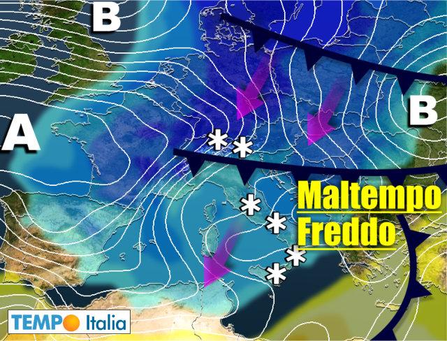 Meteo 15 giorni primavera invernale basse temperature e molta neve notizie meteo di tempo italia - Meteo bagno di romagna 15 giorni ...