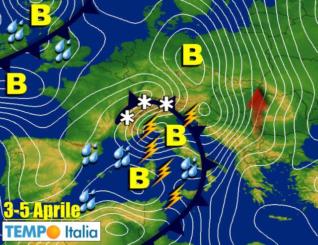 Allerta meteo: abbondanti piogge e acqua alta in arrivo