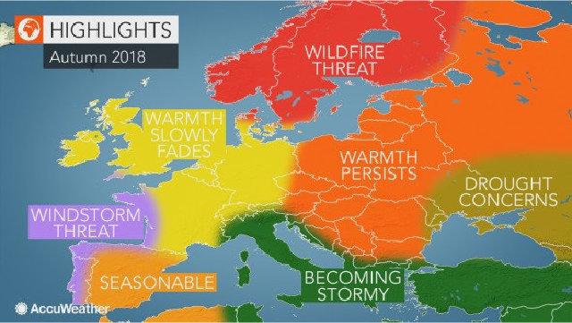 Meteo, l'Italia non si fa mancare nulla: dall'afa al ciclone autunnale Ernesto