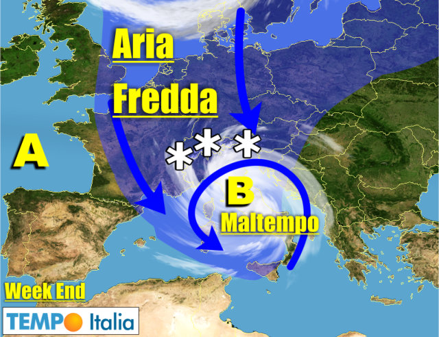 Meteo dall 11 al 17 novembre maltempo intermittente in varie regioni freddo in aumento - Il meteo bagno di romagna ...