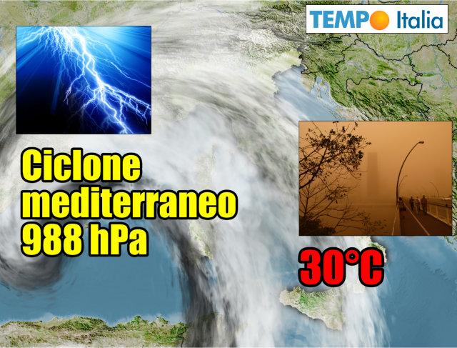 Meteo 25 aprile, rischio pioggia: la mappa del tempo incerto