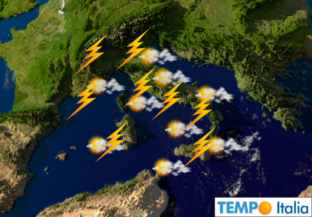 Meteo di maggio temporali grandine specie di pomeriggio - Meteo it bagno di romagna ...