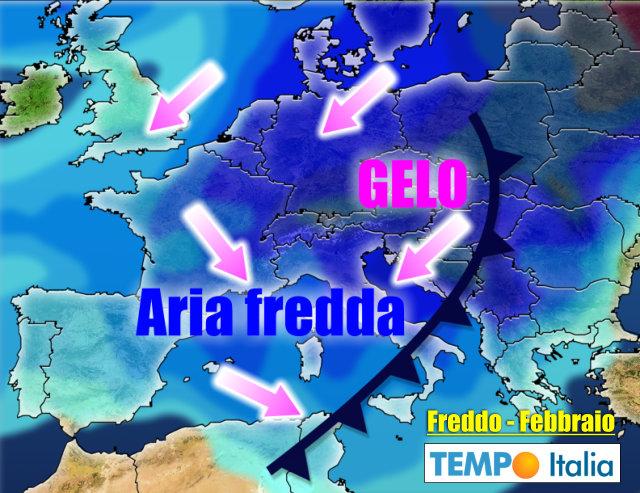 Meteo Italia Cartina.Meteo Italia Ad Inizio Febbraio In Vista Freddo E Neve Svolta Invernale Notizie Meteo Di Tempo Italia