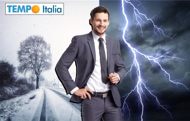 Domani NEVE su tutto il Nord Italia