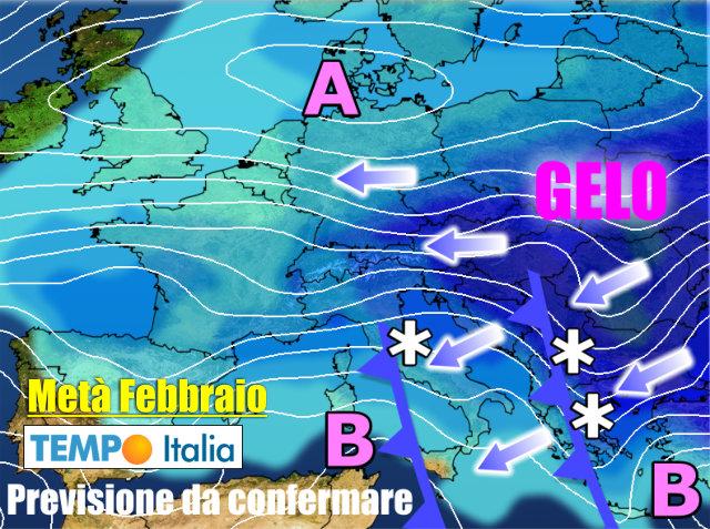 Meteo Italia Cartina.Meteo Italia L Inverno Non Mollera La Presa Maltempo E Neve A Bassa Quota Notizie Meteo Di Tempo Italia