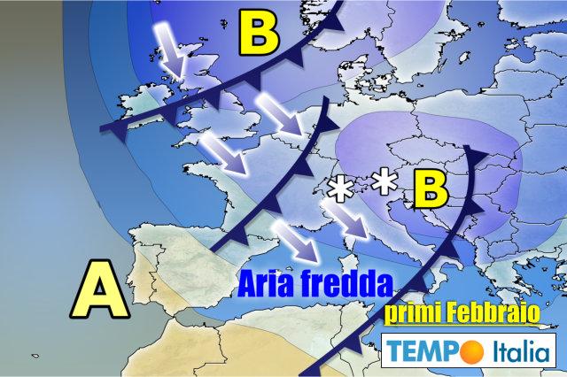Meteo Italia Cartina.Meteo Italia Stop Anticiclone Spazio Al Freddo Inverno Piogge E Neve Notizie Meteo Di Tempo Italia