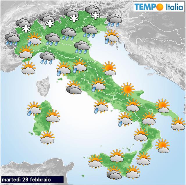 Meteo italia peggioramento del tempo oggi e nuovamente da venerd forti nevicate su alpi - Meteo bagno di romagna 15 giorni ...