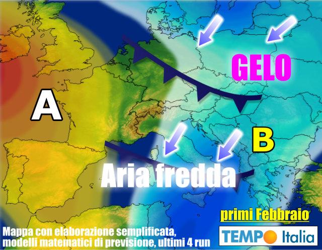 Meteo Italia Cartina.Meteo Italia Dopo Anticiclone Possibile Freddo Con Anche Neve A Bassa Quota Notizie Meteo Di Tempo Italia