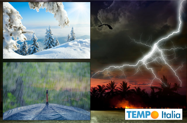 Meteo, Italia spaccata in due: nubifragi al Nord e scirocco al Sud