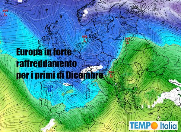 Prossimi 15 giorni ma c davvero il rischio di gelo che - Il meteo bagno di romagna ...
