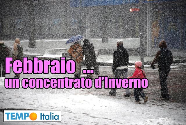 Da giovedì torna l'inverno, pioggia, neve e calo temperature